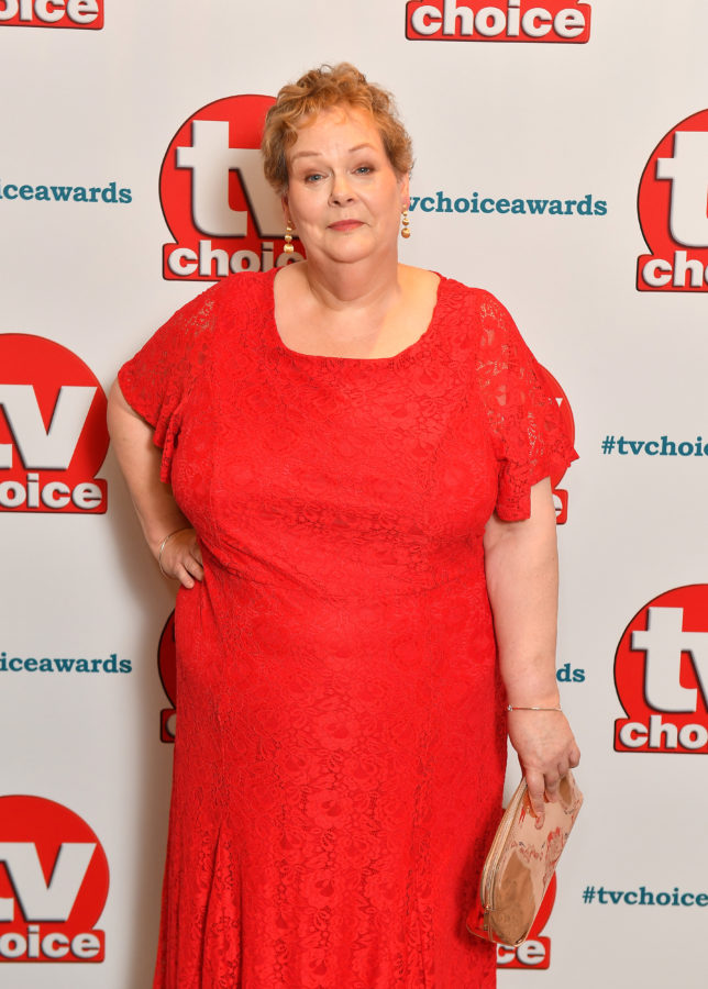 Anne Hegerty, a contestant on this year's I'm A Celebrity