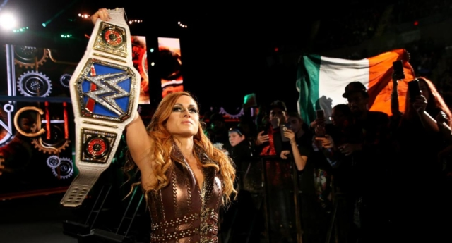 WWE SmackDown Women's Champion Becky Lynch. (WWE)