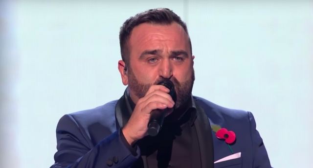 Danny Tetley is a finalist on the X Factor. (ITV)