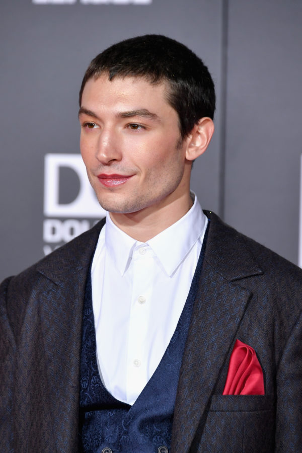 "Ezra Miller, who recently said he was ""shocked"" by a revelation in Fantastic Beasts: The Crimes of Grindelwald"