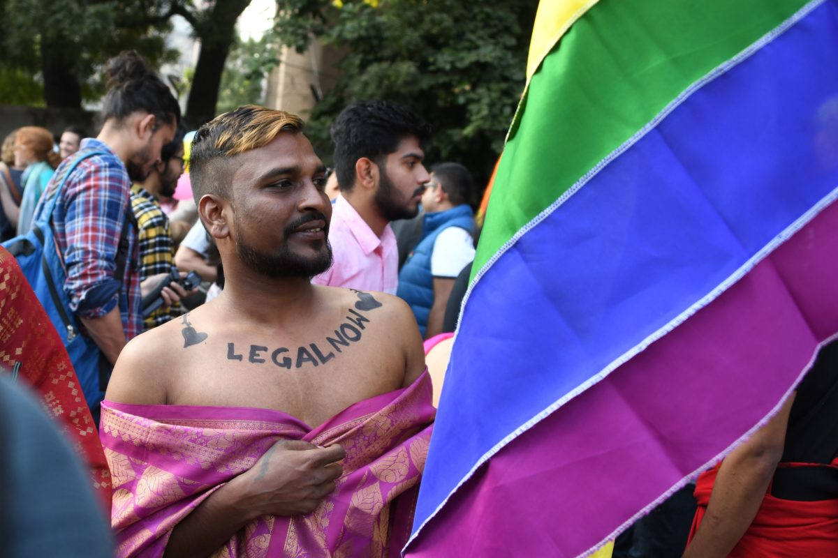 Pictures Indias First Pride March Since Gay Sex Was -5509