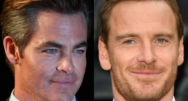 Chris Pine and Michael Fassbender are both huge talents (Gareth Cattermole/Getty and JUSTIN TALLIS/AFP/Getty)