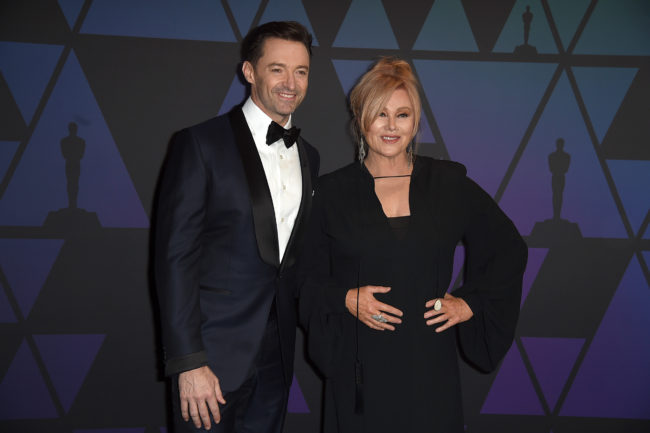Hugh Jackman and Deborra-lee Furness attend the Academy of Motion Picture Arts and Sciences' 10th annual Governors Awards