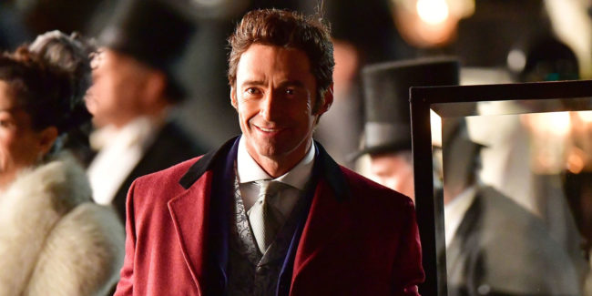 Hugh Jackman in hit film The Greatest Showman