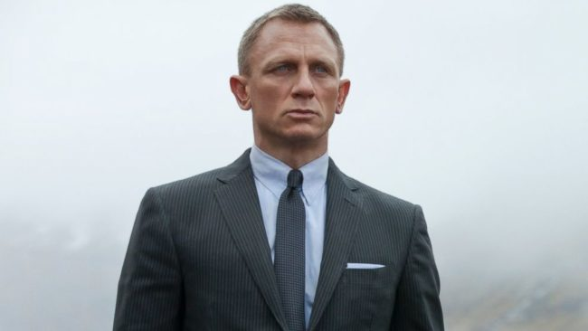 Daniel Craig, who has said that a gay James Bond is a possibility, in character as agent 007.