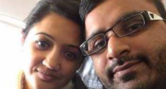 Mitesh Patel (right) has been charged with murdering his wife Jessica Patel. (Jessica Patel/Facebook)
