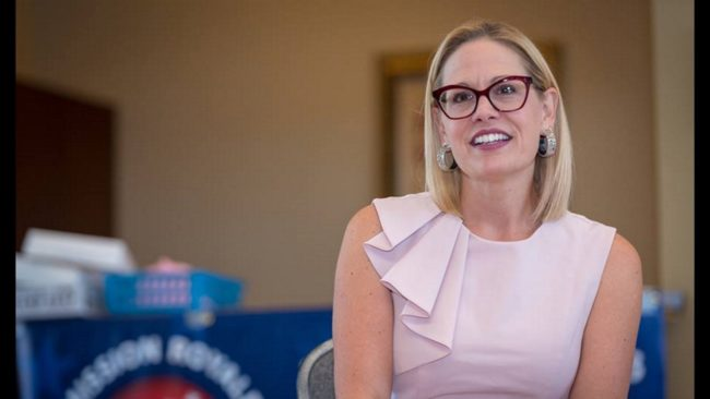 Kyrsten Sinema, America's first bi-sexual senator