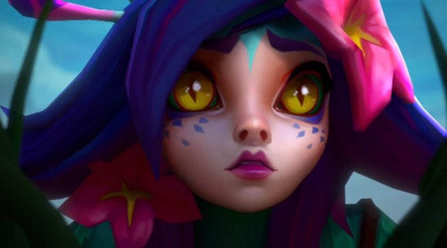Neeko, lesbian character from League of Legends