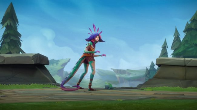 Neeko from League of Legends in her introductory video