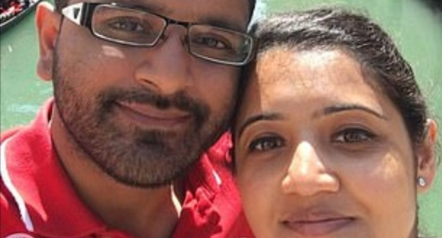 Mitesh Patel is accused of strangling and suffocating wife Jessica Patel to death