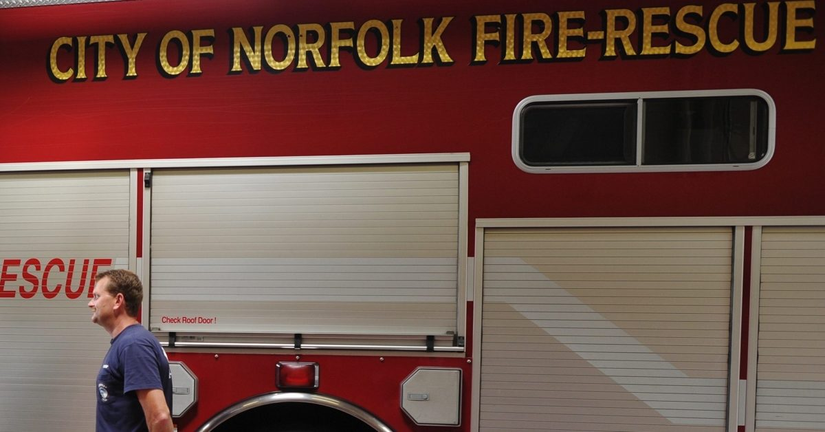 A retired gay firefighter is suing the city of Norfolk for discrimination. (Mandel Ngan/AFP/Getty)