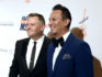 Ross Mathews and Salvador Camarena during their 10-year-long relationship (Angela Weiss/Getty)
