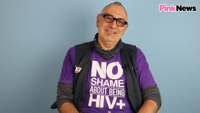 HIV+ activist Jonathan Blake talks about World AIDs Day