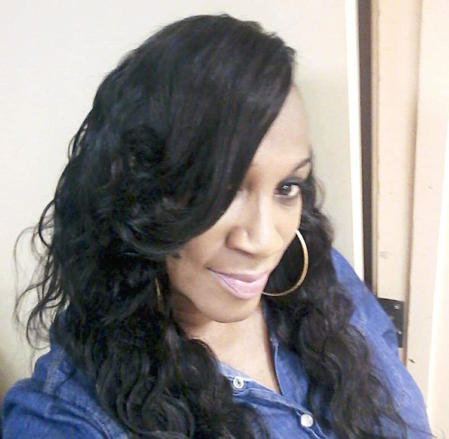 Transgender woman, Regina Denise Brown.