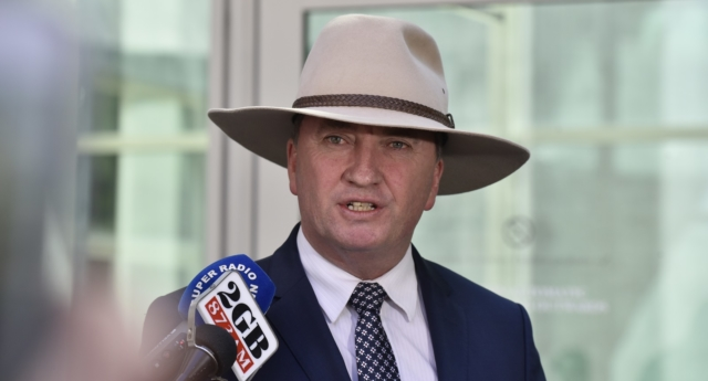 Australia's former Deputy Prime Minister Barnaby Joyce (Michael Masters/Getty Images)