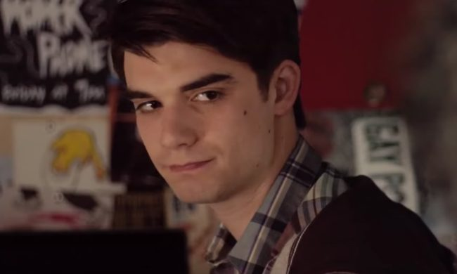 Daniel Doheny as Alex Truelove in Alex Strangelove