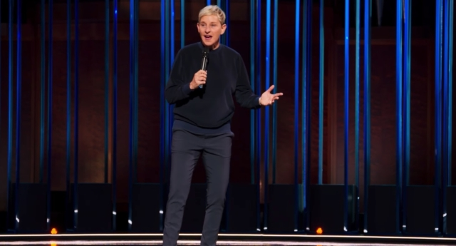 Netflix release trailer for Ellen DeGeneres' stand-up comedy special