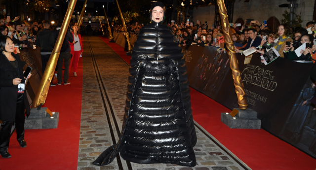 """Ezra Miller attends """"Fantastic Beasts: The Crimes Of Grindelwald"""" World Premiere at UGC Cine Cite Bercy on November 8, 2018 in Paris, France.  (Pascal Le Segretain/Getty)"""