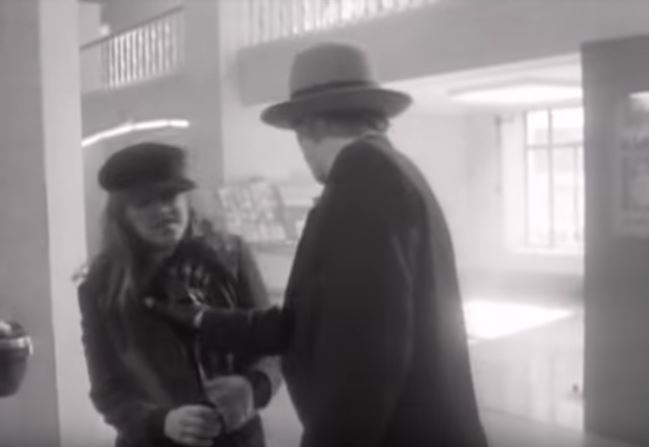 "The video for The Pogues' ""Fairytale of New York,"" which features the anti-gay slur ""faggot"" in its lyrics"