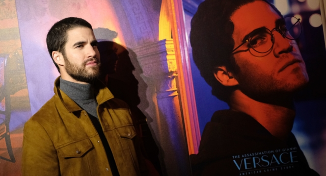 Darren Criss was nominated for a Golden Globe for his performance as Andrew Cunanan. (Angela Weiss/AFP/Getty)
