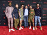 The group attend a Netflix event in May 2018 in Los Angeles (Frazer Harrison/Getty Images)
