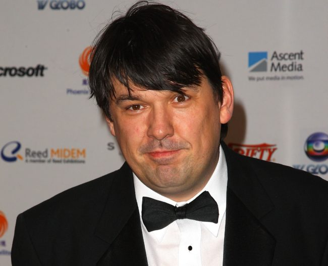 Writer and director Graham Linehan