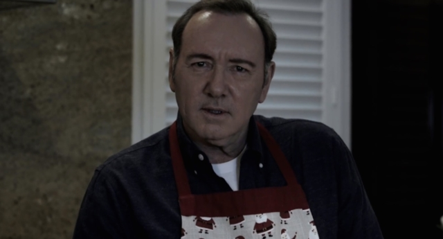 Kevin Spacey breaks silence in freaky video on Christmas Eve