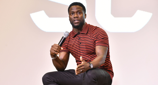 Kevin Hart has apologised for homophobic comments he made in the past. (Paras Griffin/Getty Images for Universal Pictures))