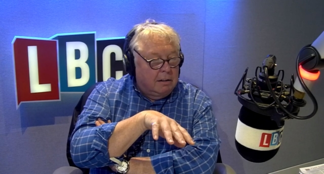 LBC host Nick Ferrari took the call from Mark