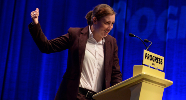 Mhairi Black at the SNP Autumn Conference in 2017. (Mark Runnacles/Getty Images)