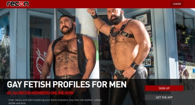 (Recon gay fetish website)