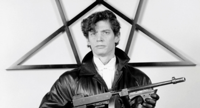 A biopic on Robert Mapplethorpe's life will be released in 2019. (Robert Mapplethorpe, self-portrait)