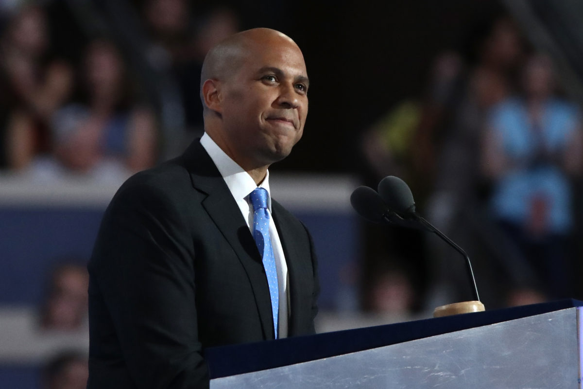 2020 Presidential hopeful Cory Booker responds to gay rumours