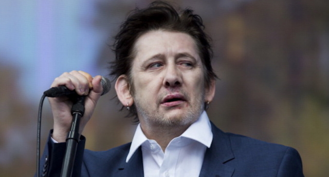 Shane MacGowan of The Pogues performs on stage at British Summer Time Festiva at Hyde Park on July 5, 2014 in London. (Tristan Fewings/Getty Images)