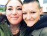 Lesbian couple Sheri (left) and Alyssa Monk. (Sheri Monk/Facebook)