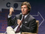 Tucker Carlson speaks onstage during Politicon 2018 at Los Angeles Convention Center on October 21, 2018 in Los Angeles, California. (Rich Polk/Getty Images for Politicon )
