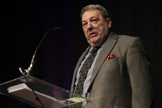 David Coburn MEP speaks at UKIP conference 2017