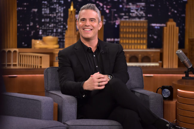 Andy Cohen on The Tonight Show Starring Jimmy Fallon on December 5, 2018