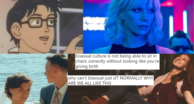 There have been so many excellent memes in 20GayTeen (twitter and atomic blonde and pexels)