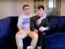 Gay porn star Blake Mitchell and his boyfriend Chad Alec. (Blake Mitchell/YouTube)