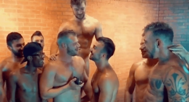 Gay porn stars gay marriage proposal after orgy scene