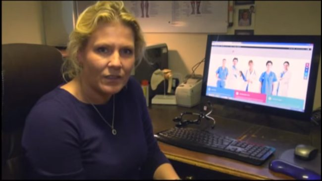 Dr Helen Webberley in a Gender GP video uploaded to YouTube