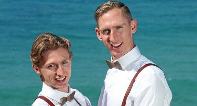 Australian couple gets married just minutes after equal marriage is legalised