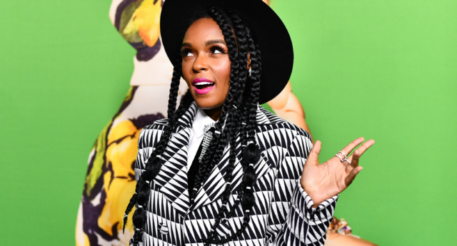 Janelle Monáe was cited as the main reason why pansexual was such a popular word this year (Emma McIntyre/Getty)