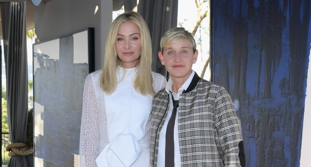 Portia de Rossi thinks her wife Ellen DeGeneres should end her daytime show and dedicate herself to new projects. (Charley Gallay/Getty for RH)