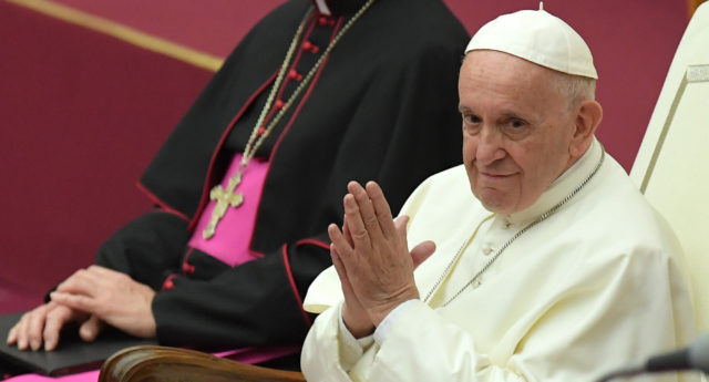 Pope Francis discussed his views on gay men serving in the clergy in a book-length interview. (Tiziana Fabi/AFP/Getty)