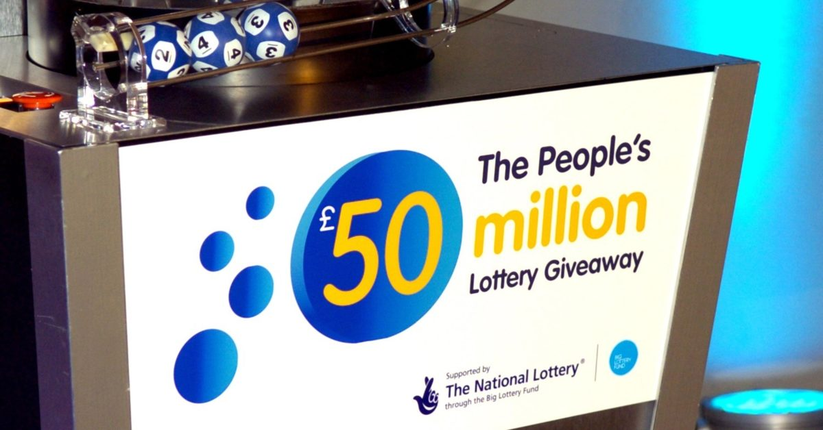 National Lottery event 'The People's 50 Million Lottery Giveaway' at the Mermaid Conference Centre on October 23, 2007 in London, England. (Stuart Wilson/Getty)