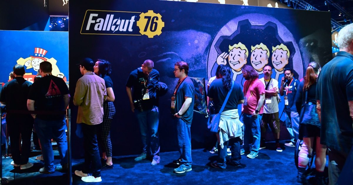 A group of Fallout 76 players were banned for life after targeting other players in 'homophobic' attack. (Frederic J. Brown/AFP/Getty)
