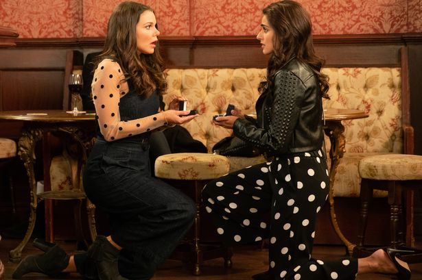 KATE CONNOR AND RANA NAZIR'S DOUBLE LESBIAN PROPOSAL