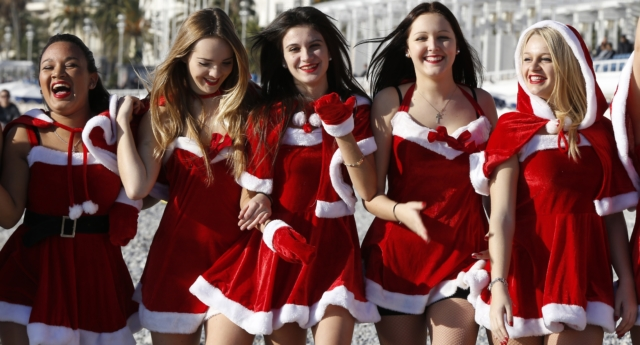 Santa's traditional image as an old white man was rejected by many respondents (VALERY HACHE/AFP/Getty)